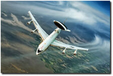 Eye In The Sky by Peter Chilelli - Boeing E-3 Sentry - Aviation Art Print