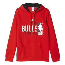 adidas CHICAGO BULLS GRAPHIC HOODIE NBA RED S XL RED PULLOVER SWEAT BASKETBALL