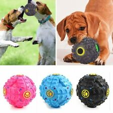 1PC Ball Activity Pet Tough Sound New Training Treat Hot Giggle Squeaky Dog Chew