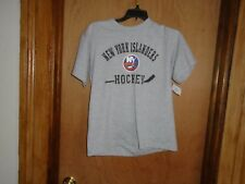 New York Islanders NHL Old Time Hockey Youth Size T Shirt M or L NWT