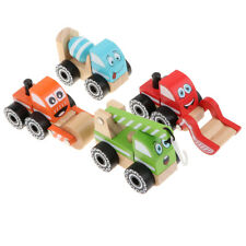 Kids Wooden Toys Construction Engineering Trucs Toy Kids Boys Party Favors