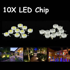 10X LED Bulb Diodes Lamp LED COB Chip 3W SMD High Power White Red Blue Yellow