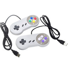 USB Retro Super Controller For SF SNES PC Windows Mac Game Accessorie NICA