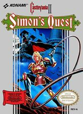 Retro Castlevania 2: Simon's Quest Game Poster//NES Game Poster//Video Game Post
