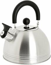 Mr. Coffee 72750.03 Morbern Stainless Steel Whistling Tea Kettle
