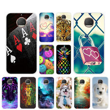 Case For Motorola Moto G5S Plus Soft  TPU Clear Silicone Back Cover Skins Pets