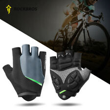 Half Finger Cycling Gloves Gel Pad Shockproof BMX MTB Bike Bicycle Mitts Sports