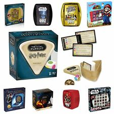 Trivial Pursuit, Top Trumps Quiz and Match Card Games - Harry Potter Disney WWE