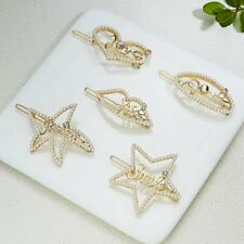Chic Crystal Star Heart Bling Barrette Hairpin Hair Clip Hairband Comb Bobby Pin