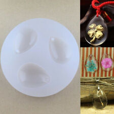 HN- Unique Water Drop Mold for DIY Gem Resin Casing Pendant Jewelry Making Tool