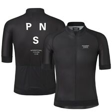 Pro Team PNS 2019 Summer Short Sleeve Cycling Jersey For Men Quick Dry Bicycle