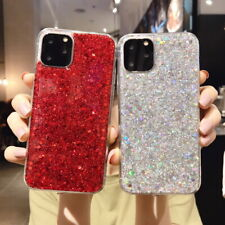 Luxury Case For Apple iPhone 11 Pro Max Xs XR 7 8 Plus 6s Glitter Silicone Cover