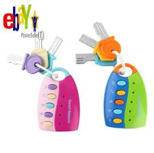 Baby Toy Musical Car Key Vocal Smart Remote Car Voices Pretend Play Educational