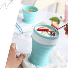 Silicone Portable Folding Travel Cup Telescopic Drinking Collapsible Camping Cup