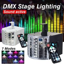 RGB Stage Light Sound Active DMX512 LED Light Laser Effect Club Disco    3 Q