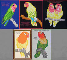 LOVEBIRD COUNTED CROSS STITCH PATTERNS