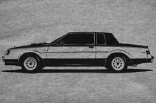 Buick WH1 T-Shirt, Grand National, T-Type, GNX, Regal
