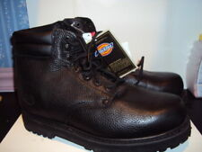 Mens Dickies Brand Black Work Boots Style WD7210 Size 10 11 NEW