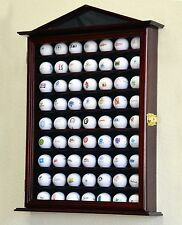 63 Golf Ball Designer Display Case Cabinet Door Rack