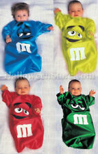 M&M Cute Candy Baby Toddler Bunting Costume