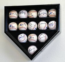 14 Baseball Ball Display Case Rack Holder Cabinet MLB