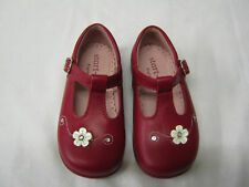 *SALE* Girls Startrite Shoes In Red Leather 'Tilly' G Fit