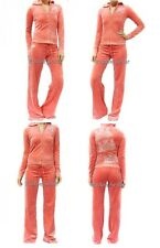JUICY COUTURE Pink Spoiled Tracksuits Hoodie Pants Set