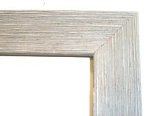 """1.5"""" Wide Rustic Gray Barnwood Picture Frame-Square Sz."""