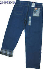 Dickies Flannel Lined 29693SNB  Stone Wash W 30 to W 44