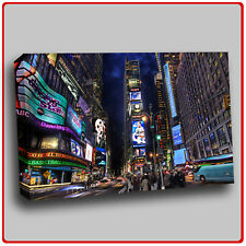 Modern Canvas Art Print Times Square at Night  New York