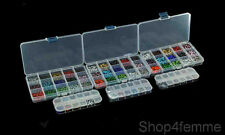 Mixed Box Sets of Hot Fix Iron On Rhinestones in Varies Sizes (SS6 / SS10 /SS6)