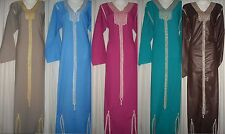 Islamic Dress Gown Abaya Jilbab Sleepwear Kaftan Hijab Veil Many Sizes,colors 4U