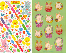 *EASTER* Sticker Sheets SANDYLION Choice Bunnies or Decorating the Easter Eggs