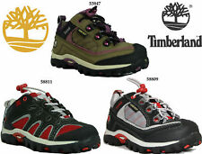 Girls Boys Infants Timberland Trainers Gore Tex Leather Sports Shoes Gym Walking