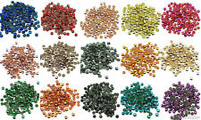 Loose Rhinestuds lot of Hot Fix Iron on 4mm, 15 Colors to choose from
