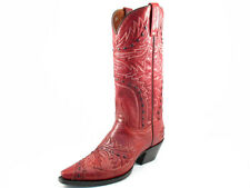 Ladies Dan Post Sidewinder DP3455  RED  Leather - several sizes- snip toe