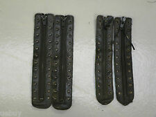 Lace in Boots Zips 12 & 11 Hole Military Boot  Zips Army Surplus