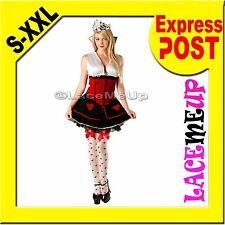 Queen of hearts Alice in Wonderland Costume Fancy Dress