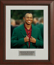 Tiger Woods 2nd Green Jacket 2001 Masters Framed Photo 11 x 14