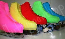 LYCRA WITH SHEEN SKATING BOOT COVERS/ ROLLER / FUNDAS DE PATINES PATINAGE