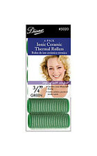 DIANE IONIC CERAMIC VELCRO THERMAL HAIR ROLLERS/CURLERS SELF GRIP/STICK 8 SIZES