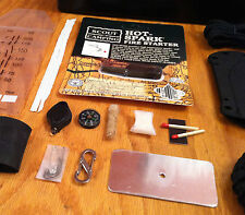 Neck Knife Survival Kit Replacement parts - Bushcraft Wilderness Survival