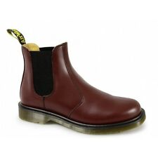 Dr Martens 2976 Unisex Classic Airwair Chelsea Dealer Boots Cherry Red DM Boxed