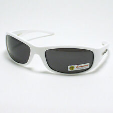 BIKER Skateboard Sunglasses Mens Casual Fashion Shades New White Brown Blue