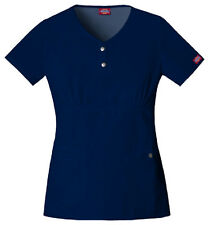 Scrubs Dickies Gen Flex Youtility Multi-Pocket Top 82721 Navy  Buy 3 Ship $6