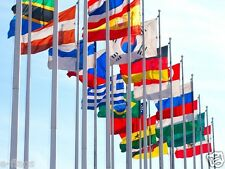 GIANT INTERNATIONAL NATIONAL FLAGS OF THE WORLD