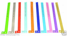Puppy Dog Super Soft Vinyl ID Bands Whelping collars wrist band parties