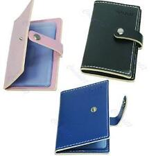Lovely Woman PU Leather Business Credit ID Card Holder Purse Wallet Pocket