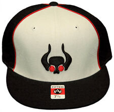 New! Orix Buffaloes Japanese Baseball - Flatbill Fitted Hat-3D Embroidered Cap