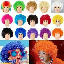 Afro Curly Clown Party 70s Disco Wig Wigs in 15 Colours